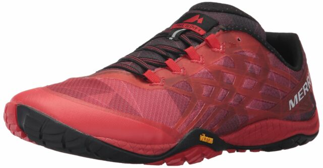 best sneakers release date amazing selection Merrell Men's Trail Glove 4 Runner Mesh and TPU Upper Running Shoe ...