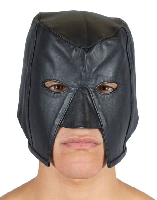 "Executioner Hood Genuine Leather With Laces ""NEW"""