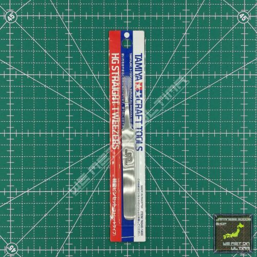 Straight Tweezers Tamiya Craft Tools HG Angled TRACKED /& COMBINED SHIPPING