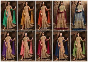 Salwar-Kameez-Suit-Designer-Indian-Dress-Pakistani-Anarkali-New-Party-Wear-FM