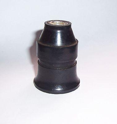 E126 Vintage Bakelit Porzellan Lampenfassung Ersatzteil shabby loft deko fabrik