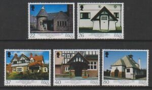 Isle-of-Man-2001-Architecture-set-MNH-SG-953-7