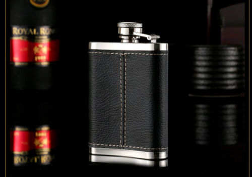 D29 4OZ Portable Autobike Stainless Flask Flagon Whiskey Alcohol Pocket Hip A