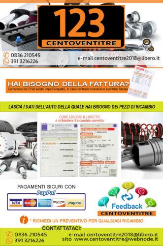 MANICOTTO FLESSIBILE ASPIRAZIONE FILTRO ARIA FORD MOTORI 1.4 TDCI