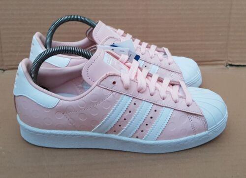 Trainers Uk Pink 5 Bnib Superstar Polka Gorgeous New Dot 80's Rare Adidas Size 0RZqv