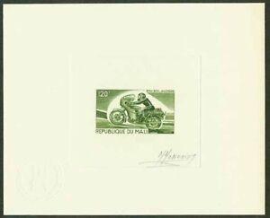 Mali-1976-Motorcycles-120fr-engraved-DIE-PROOF