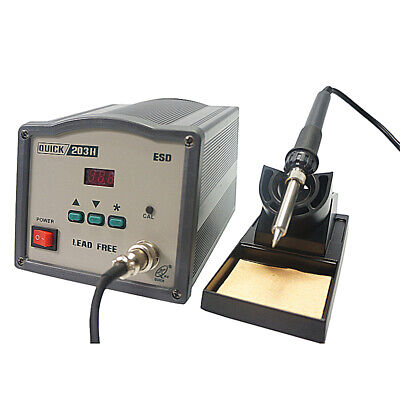 High Frequency 90W Solder Iron Handle For QUICK 203H 203 204H Soldering Station