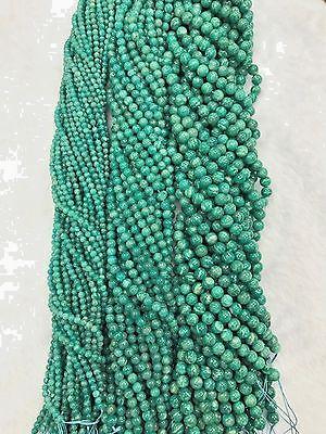"AAA grade Green Russian Amazonite Round Beads 16"" *DIY your jewelry"