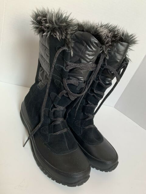 The North Face Nuptse Womens Boots Sz 10 Purna  Waterproof Winter Primaloft 200