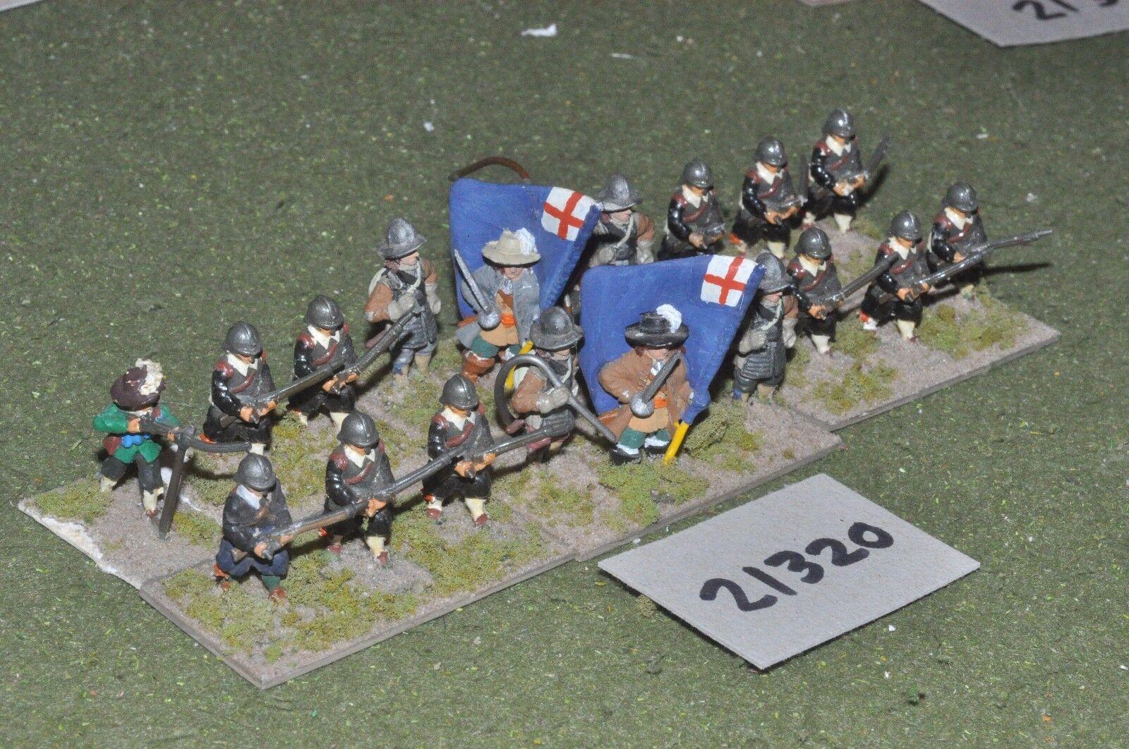 25mm ECW   english - civil war infantry - inf (21320)