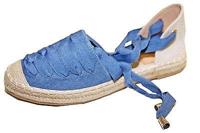 Chaussure Style Espadrille à Lacets Semelle Caoutchouc Et Corde Tressée Mode !