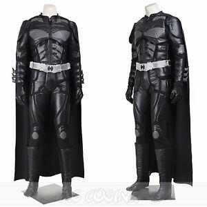 A imagem está carregando Free-Shipping-Batman-The-Dark-Knight-Rises-Black-  sc 1 st  eBay & Free Shipping Batman The Dark Knight Rises Black Batman Cosplay ...
