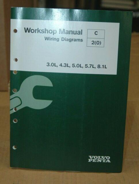 Volvo Penta Workshop Manual  Wiring Diagram  3 0l  4 3l  5