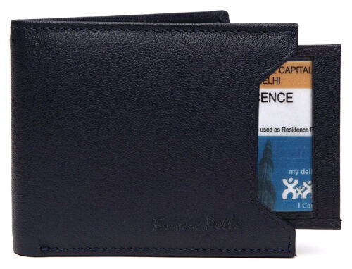 Mens Designer Leather Wallet Buono Pelle High Quality Credit Card Coin Holder