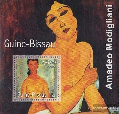 Stamps Guinea-bissau Block346 Postfrisch 2001 Gemälde Hot Sale 50-70% OFF