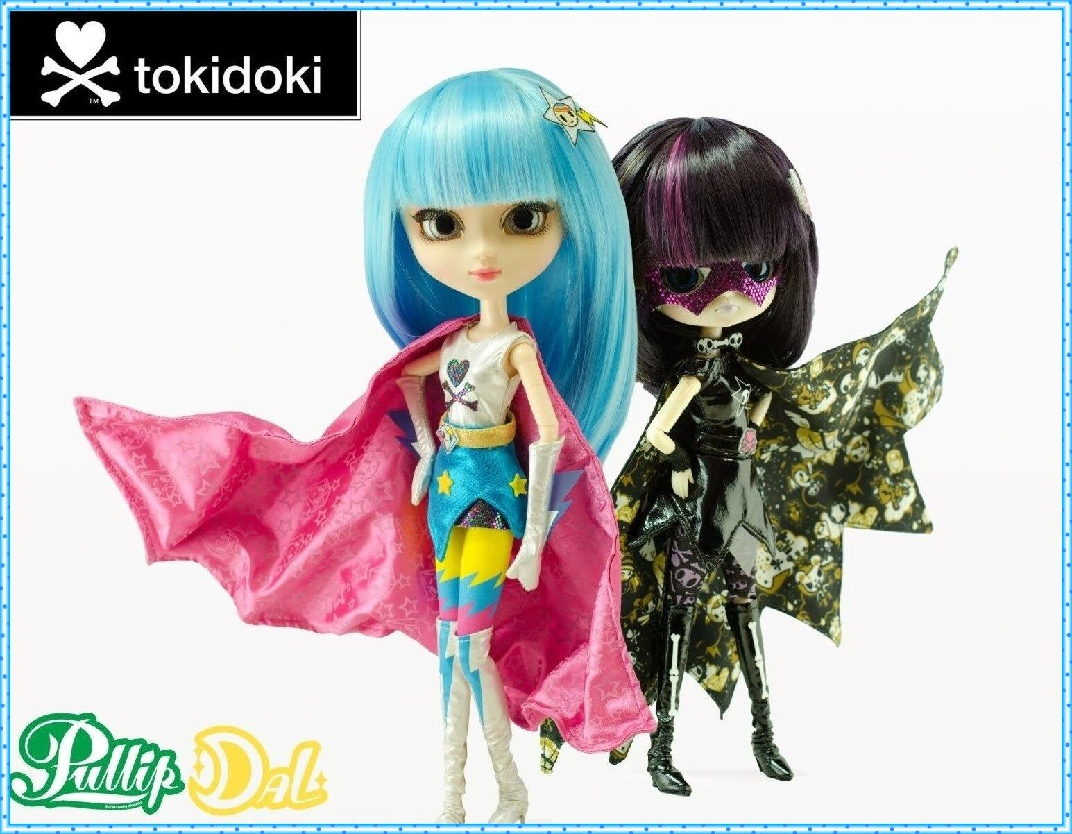 Sdcc 2014 Tokidoki X Pullip Super Stella & dal vendettina Muñeca Set Ltd Solo 250