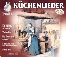 World of Küchenlieder Uschi Bauer, Heintje Simons, Die singenden Landfr.. [2 CD]