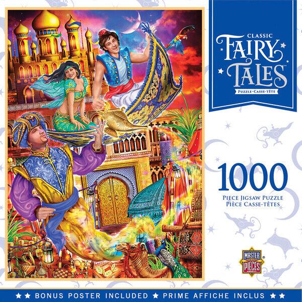 Aladdin Disney Classic Collection Jumbo Puzzle 1000 pièces