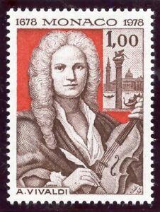 Stamp / Timbre De Monaco N° 1133 ** Compositeur Antonio Vivaldi