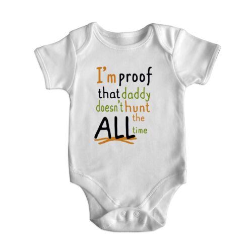 Fête des Pères Drôle à manches courtes bébé body barboteuse bébé pousse Newborn 0-18 M 5