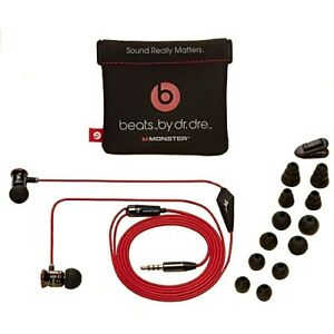 Beats-by-Dre-iBeats-Earbuds-Black-Brand-New