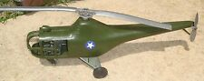 Rare Vintage Irwin Sikorsky H5 S-51 Helicopter Toy Gyro 40-50's w/Price Tag