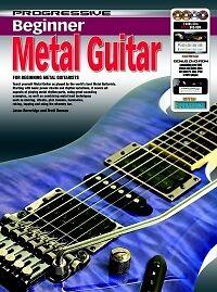 Logique Progressive Débutant Métal Guitare + Multimedia-afficher Le Titre D'origine