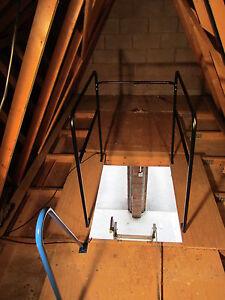 Loft Surround Rail-Balustrade-Loft Accessory-Safety-Black