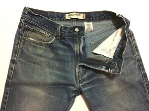 Jeans Levis X 505 34 Fading 30 Zipper Fly Blue Killer Red Tab Fit Regular qqOUr