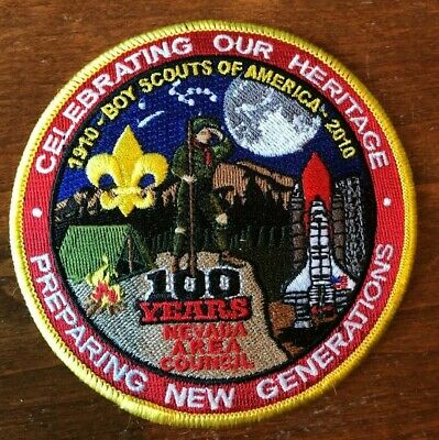 Celebrating Our Heritage-100 Years of Scouting Nevada Area Council