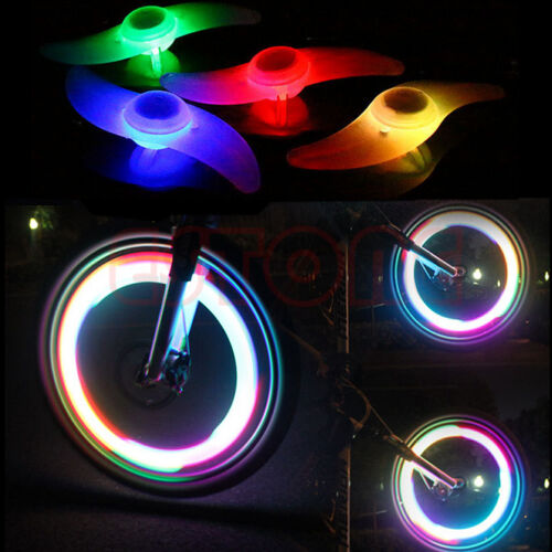 3 Mode Bike Cycling Bicycle Spoke Wire Tire Tyre Wheel LED Bright Lamp Light New