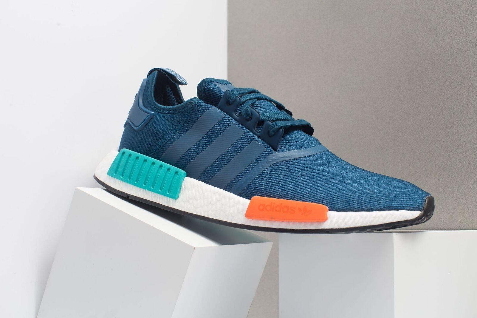 Mens Mens Mens Adidas NMD_R1 blu bianca rosso verde nero G26510 8d6ad3