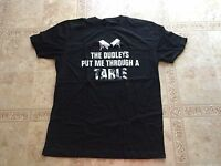Dudley Boyz Wwe Finisher T-shirt Men's Large The Dudleys Put Me Through A Table