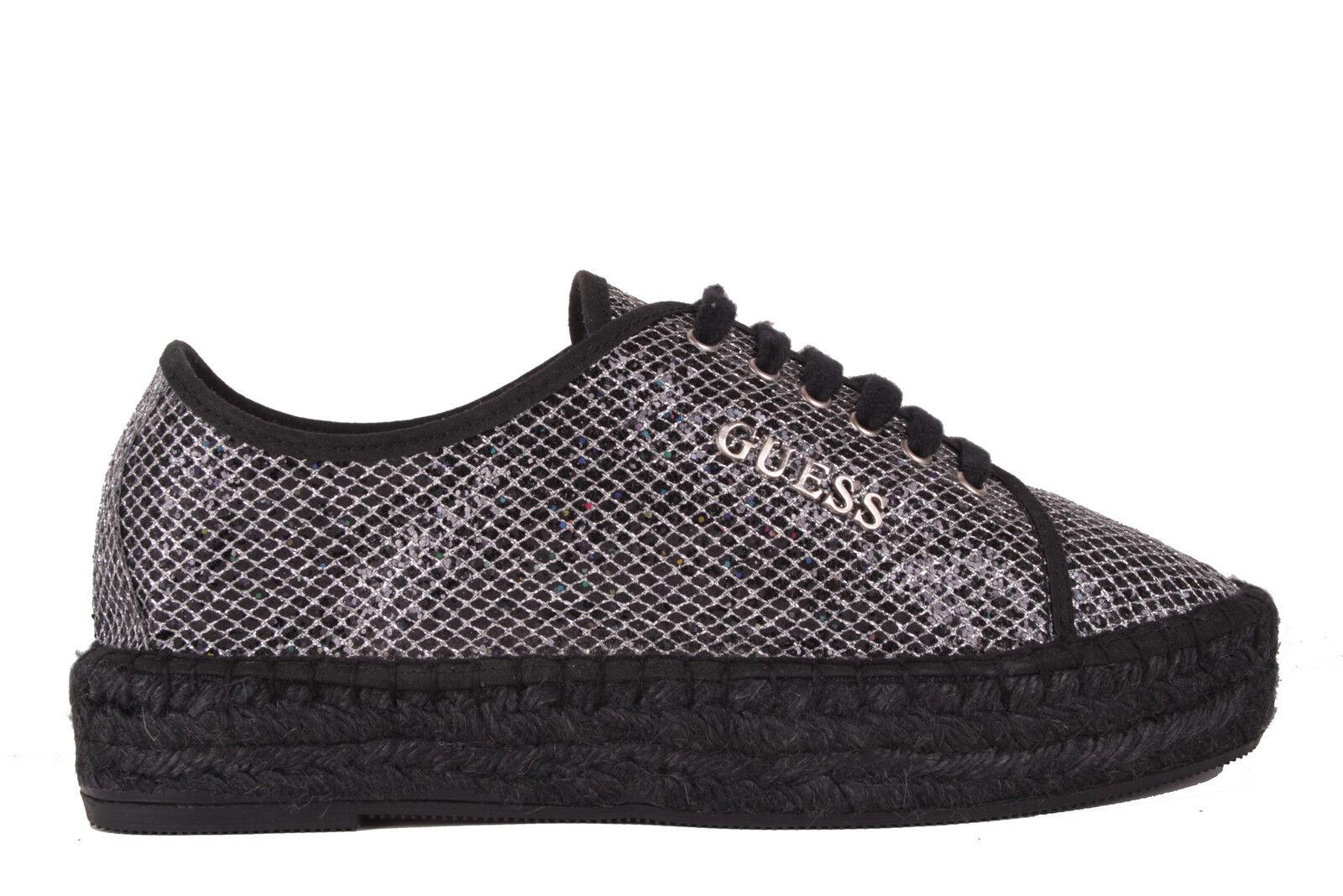 GUESS sneaker donna lacci nero nero lacci #607 141c23