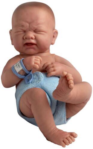 JC Toys La Newborn 14/'/' First Tear Newborn  Real Boy  Berenguer Boutique NRFB