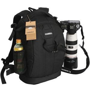 large waterproof dslr slr camera backpack padded bag