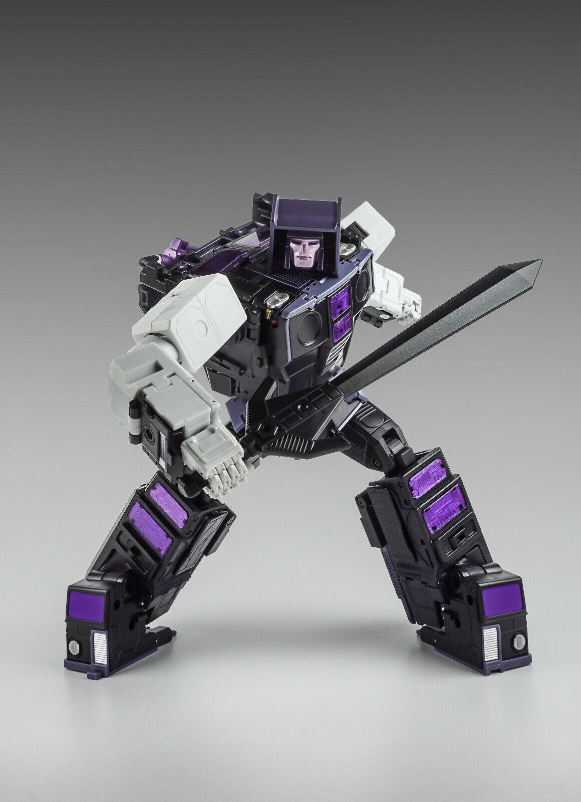 nuovo Xtransbots Transformers MX12A Lapide G1 motormaster Menasor in magazzino