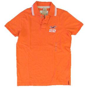 Hollister-Abercrombie-Muscle-Slim-Polo-Shirt-Hco-Dudes-Polos-Logo-Shirts-S-V005