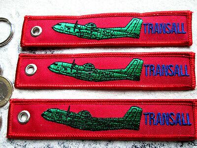 160 Transall REMOVE BEFORE FLIGHT 3er SET Keychain //Avion Aircraft YakAir C