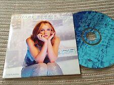 BRITNEY SPEARS - BORN TO MAKE YOU HAPPY radio edit CD SINGLE 1 TRACK PROMO CARD