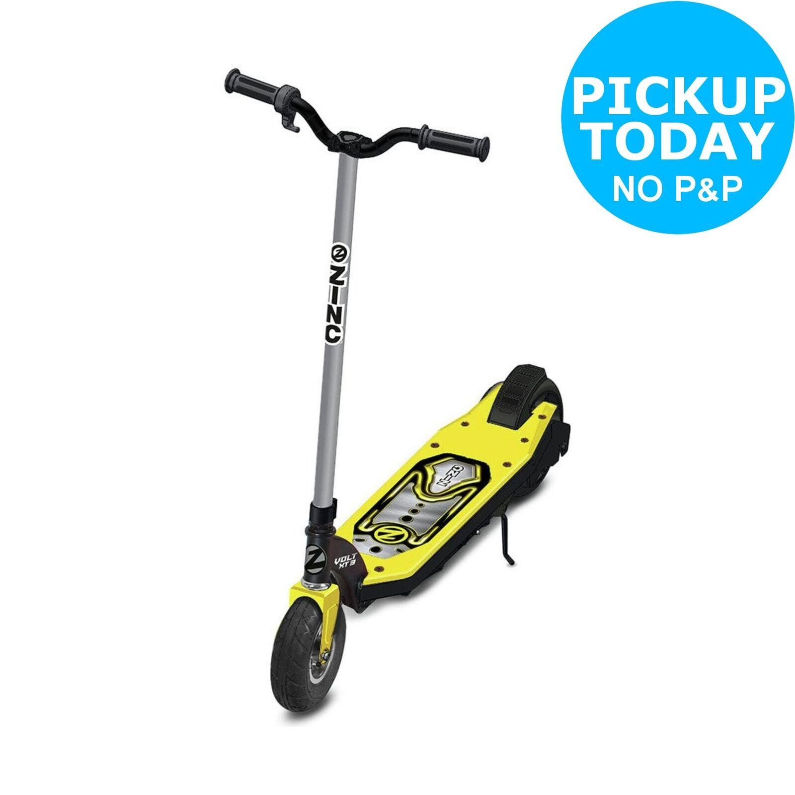 Zinc Volt XT3 24V Electric Scooter - Yellow.