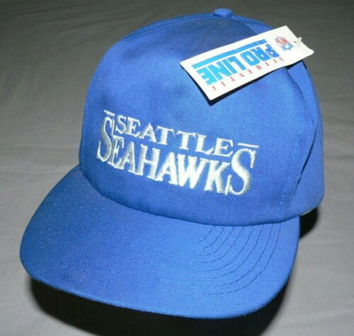 VTG 80S 90S SEATTLE SEAHAWKS NFL PRO LINE HAT CAP