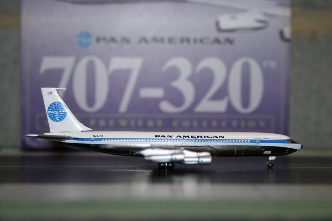 Dragon Wings 1 400 Pan American Boeing 707-300 N414PA (55718-03) Model Plane