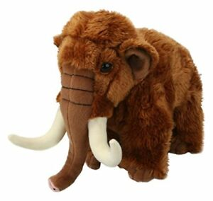 Living-Nature-Woolly-Mammoth-Soft-Plush-Toy-20-cm