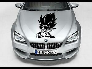 Goku Dragon Ball Z Hood Car Decal Race Sports Grpahic Art Sticker