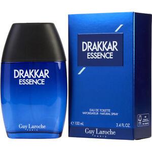 Detalles de Drakkar esencia Perfume para hombres por Guy Laroche 3.4 oz Eau de Toilette Nuevo ver título original