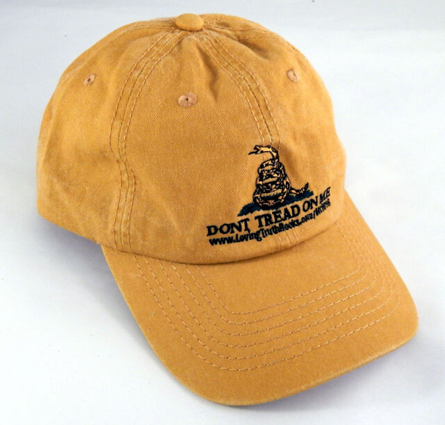 Embroidered Mustard Yellow Don t Tread on Me Hat   Gadsden Baseball Cap 8c5e48909dd