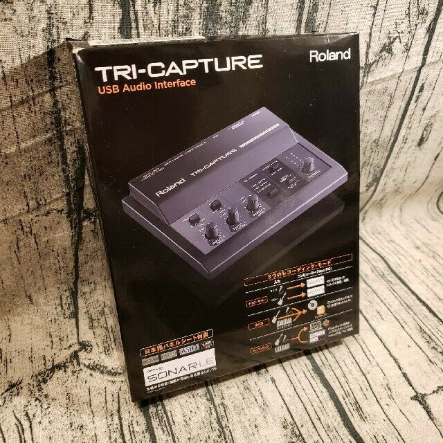 Roland TRY-CAPTURE USB Audio Interface USED All Accessories Present F S