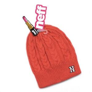 e7d020da2 Details about NWT Neff Headwear Sarah Coral Women's Beanie