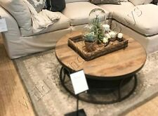 Pottery Barn Elyse Rug Gray 3x5 Tufted Wool Authentic Medallion New